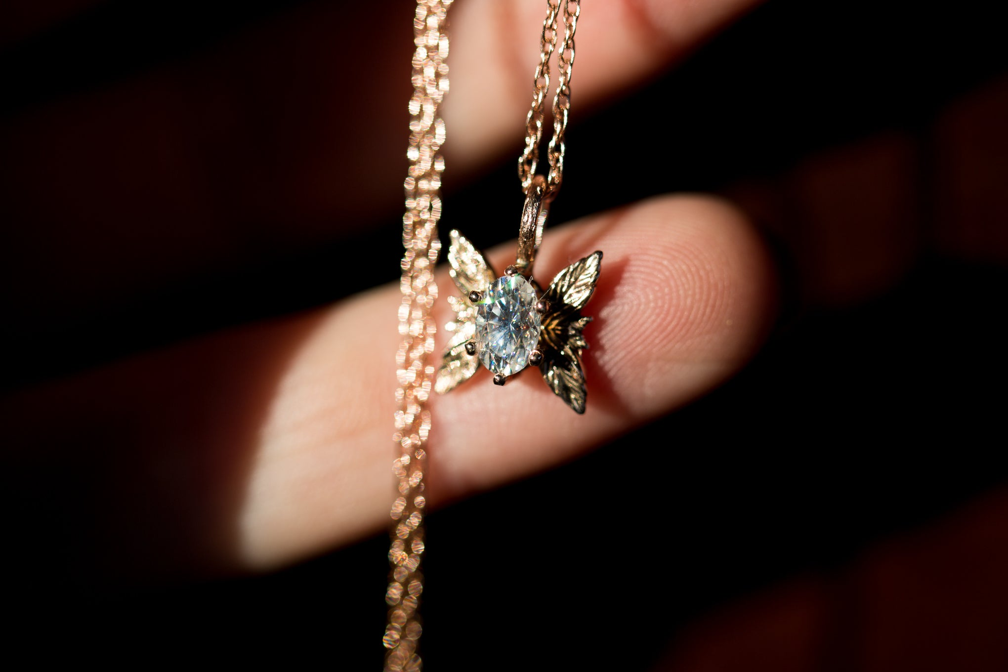 The forest sprite necklace