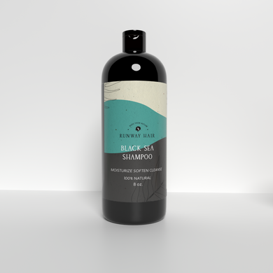 Black Sea Moisturizing Shampoo (w/Black Jamaican Castor Oil, Bamboo & Sea Kelp!)