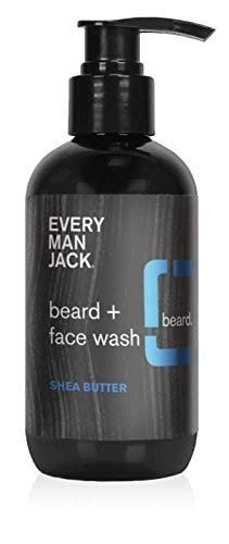 Every Man Jack Beard + Face Wash, 6.7-ounce (Shea Butter)