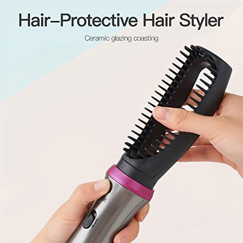 Hair Dry Brush, inkint 5 In 1 Hot Air Brush Set One-Step Hair Dryer and Volumizer Ceramic Blow Dryer for Straightening Curling Drying Combing Styling