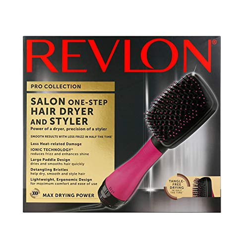 Revlon One-Step Hair Dryer and Styler, Pink