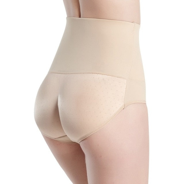 Seamless Butt Lifter Padded Panties Slimming Underwear Women High Elastic Body Shapewear