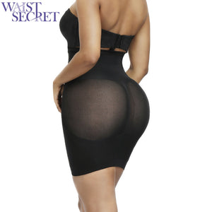 WAIST SECRET High Waist Booty Hip Enhancer Butt Lifter Invisible Shaper Dress Push Up Bottom Boyshorts Sexy Shapewear Briefs 3XL