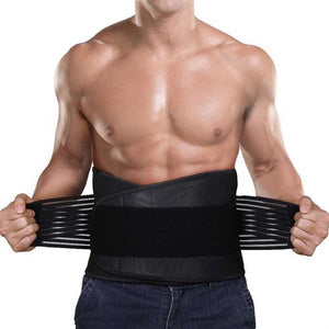 Adjustable Waist Trainer Body Shaper Neoprene Slimming Belt for Men Waist Protector Tummy Control Shapewear Flat Stomach Shapers