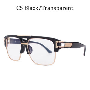 2020 Luxury brand design Classic grandmaster four Style Gradient lens Sunglasses Men Vintage Sun Glasses for women Oculos de sol