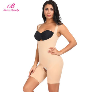 Lover Beauty Seamless Full Body Shaper Firm Control Faja Waist Cincher Underbust Waist Trainer Corset Girdle Bodysuit Shapewear