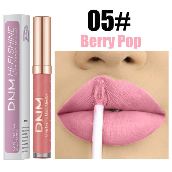 NEW Matte To Glitter Liquid Lipstick 15 Color Waterproof Diamond Lip Gloss Metallic Pearl Shining Starlight Lipstick Makeup