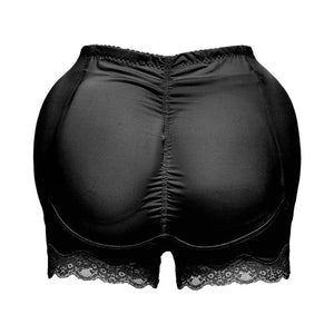 Minifaceminigirl Women's Seamless Butt Lifter Padded Panties Lace Underwear Shapewear Enhancing Body Shaper Plus Size Boyshort