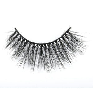 Silk False Eyelashes Handmade 3D Mink Lashes Full Strip Lashes Mink Eyelashes 100% Cruelty Makeup Soft Fake Eyelashes