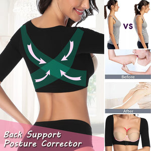 Women Upper Arm Shaper Tops Back Shoulder Corrector Shaper Humpback Posture Corrector Arm Control Shapewear Slimming Underwear