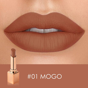 STAGENIUS Matte Lipstick Matte Velvet Lip Stick Sexy Nude Color Long-lasting Waterproof Lipsitck Makeup
