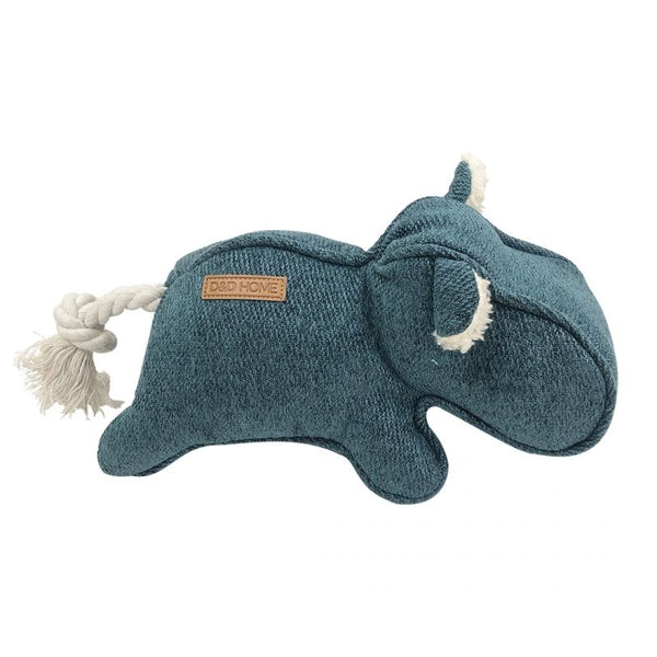 D&D Home Orion Blue Chenille Emmy legebamse