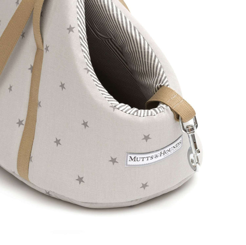 Mutts & Hounds hundetaske Grey Stars