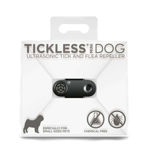 Tickless hund mini, sort - Luksushund