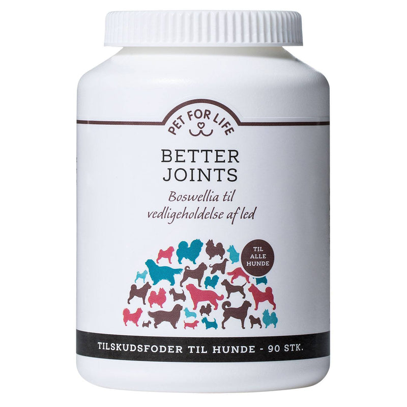 Pet for Life - Better Joints fodertilskud
