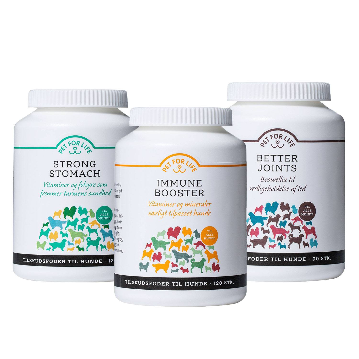 Pet for Life - Strong Stomach, Immune Booster & Better Joints