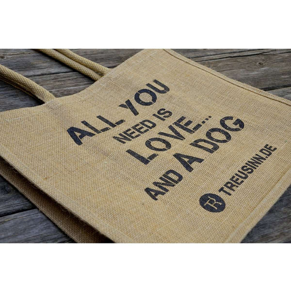 Treusinn Shopper Jute All you need - Luksushund