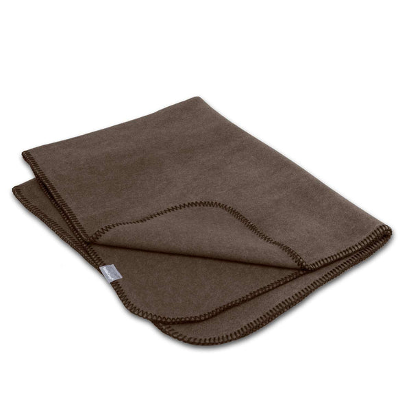 Frida Grey Hundetæppe Soft Walnut - Luksushund