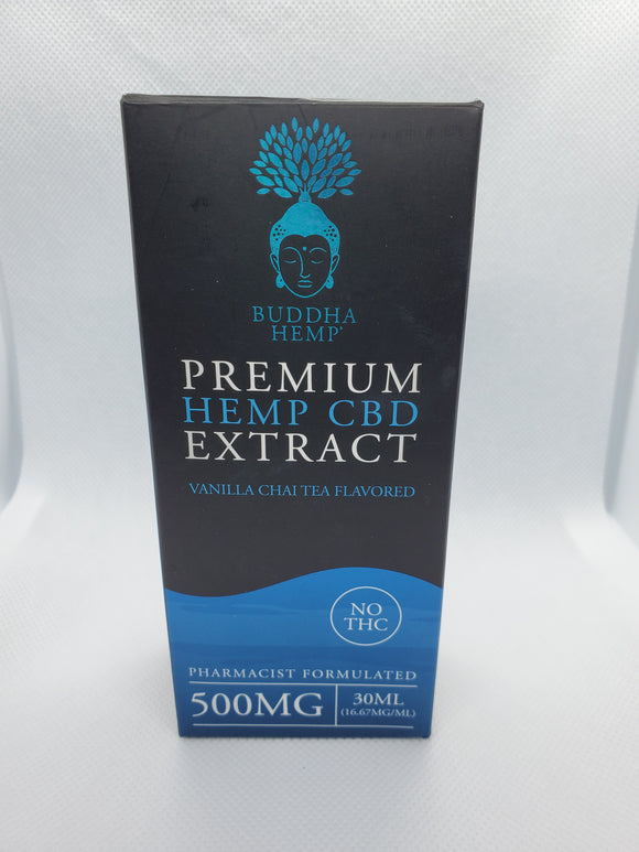 Premium Hemp CBD Extract 500mg THCFREE