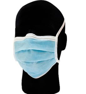 Disposable 3-ply Mask with Ear Loop (Pack of 50) FDA Approved