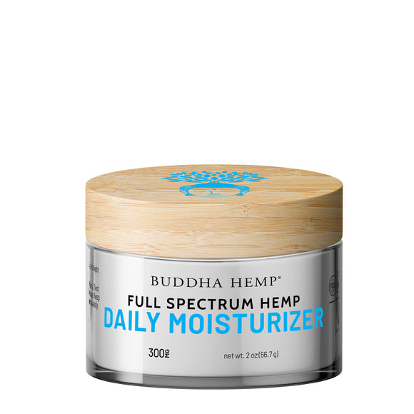 Full Spectrum CBD Daily Moisturizing Cream - 300mg