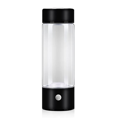 420ml Hydrogen Rich Water Generator Alkaline Rechargeable Energy Glass Bottle Anion Water Ionizer Anti Aging USB Healthy Cup