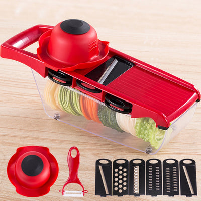 ZS - 8983 Multifunctional Potato Slicer Vegetable Fruit Cutter Kitchen Magic Tool