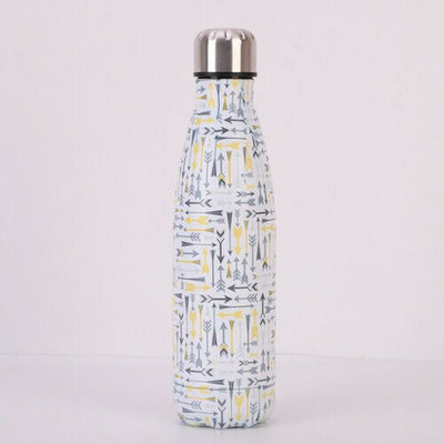 2019 New Stainless Steel Vacuum Insulated Water Bottle Flask Thermal Sports Chilly 500ML
