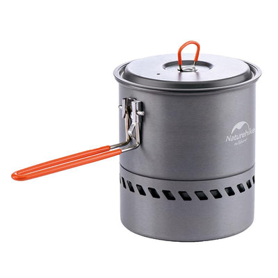 Naturehike 2-3 Person Non-stick Picnic Pot And Pan Camping Pot Outdoor Folding Cookware