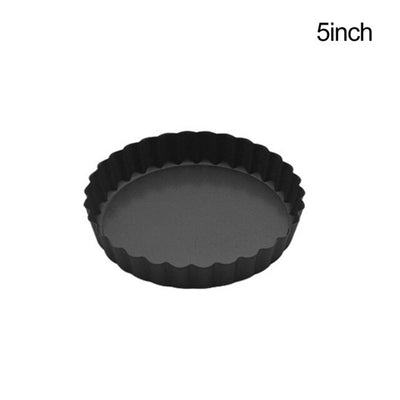 5/9Inch Non-stick Coated Pie Cake Plate Tart Quiche Pan Molds With Removable Loose Bottom Ktichen Bakeware