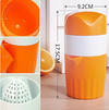 LUCOG Portable Manual Lemon Juicer Mini Fruit Juicer Hand Lemon Orange Citrus Squeezer Big Capacity