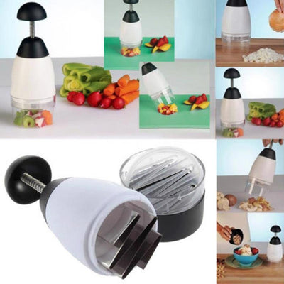 Garlic Triturator Food Chopper Slap Chop As Seen ON TV Vegetable Fruit Pepper Easy Slicer Chopper Grater Kitchen Tool