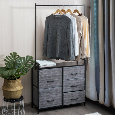 Clothing Rail Rack Clothes Storage Rack
