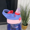 New hot Fashion 480 ml Cute Baby Water Cup Leak Proof Bottle with Straw Lid Children School Outdoor Drinking Bottle Training Cup