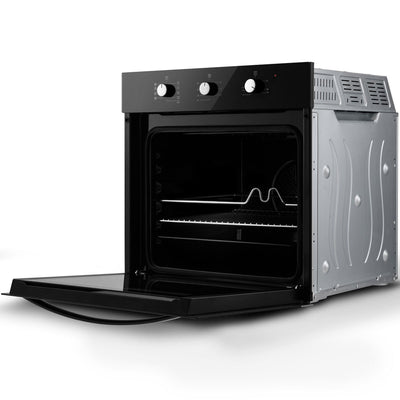 New Built-in Single Electric Fan Oven with Tempered Glass
