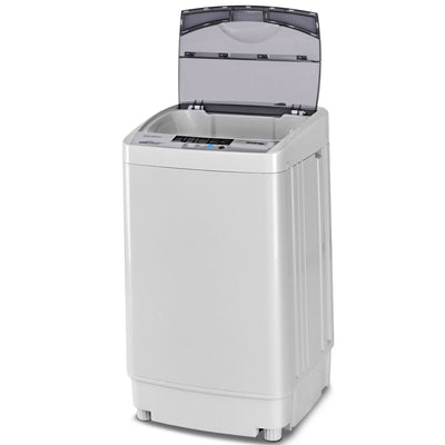 Top Loading Automatic Washing Machine Spin Dryer with LED Display