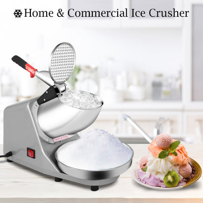Snow Cone Maker Stainless Steel Shaved Ice Machine ice breaker ice crusher