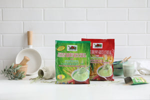 Instant Brown Rice Cereal with Spirulina - Nature's Own