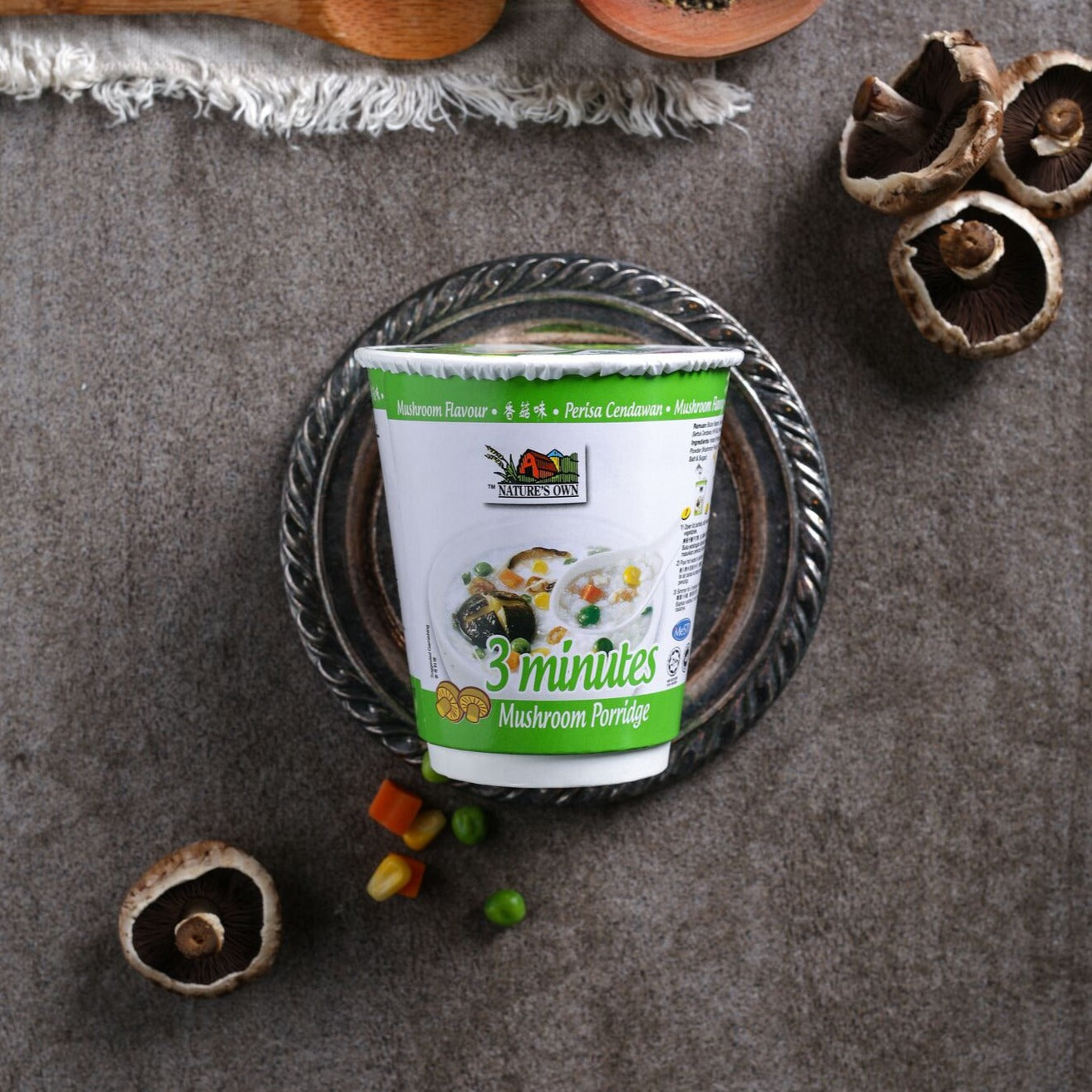 Nature's Own 3 Minutes Porridge - Mushroom