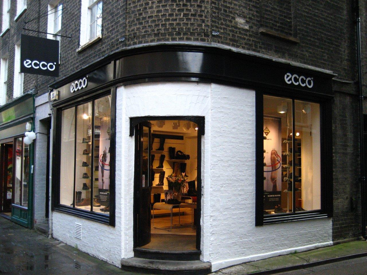 ECCO Cambridge shop