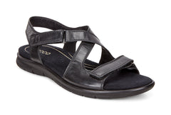 ECCO Babett Sandal Black Feather