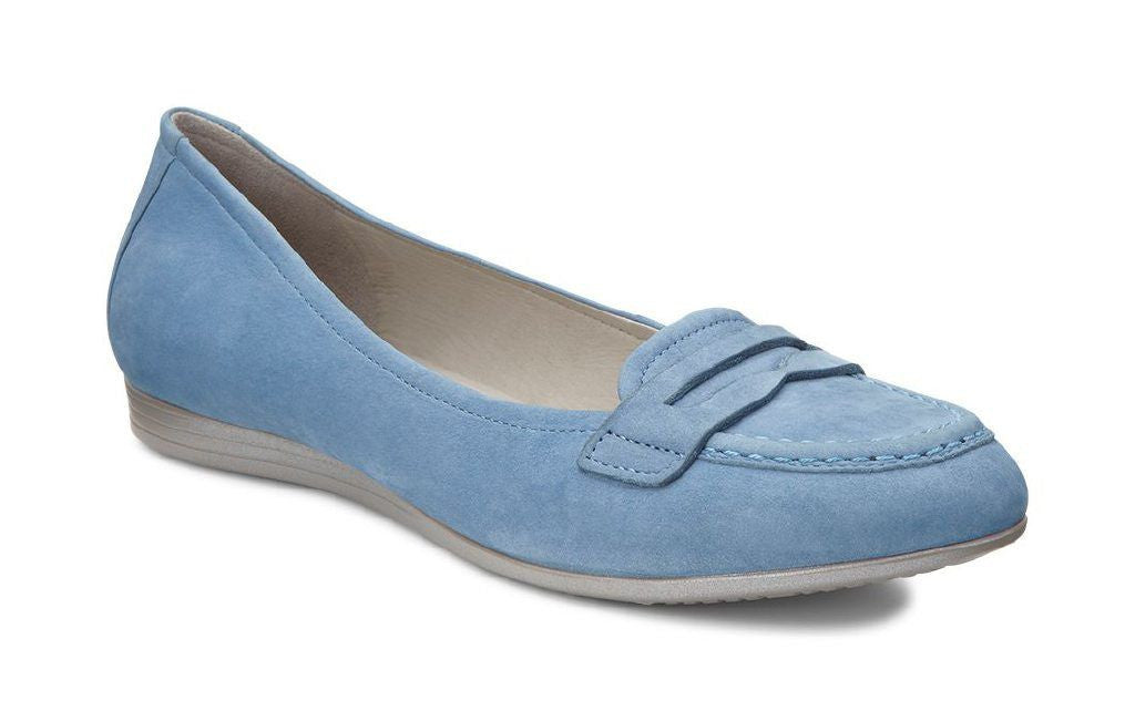 Ecco Blue Comfort Shoes