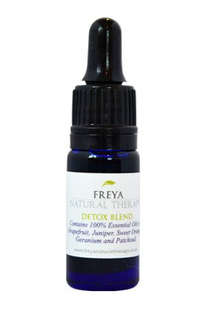 Detox essential oil blend.