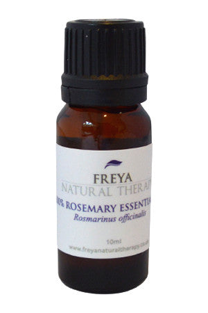 Rosemary Essential Oil (Rosmarinus officinalis).