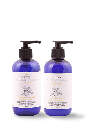Destress Yourself Shower Gel and Body Lotion Gift Set
