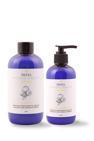 Exotic Citrus Bath Foam and Body Lotion Gift Set