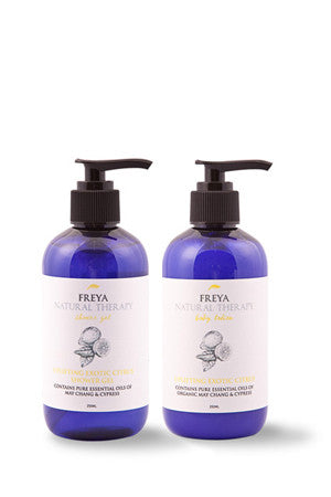 Exotic Citrus Shower Gel and Body Lotion Gift Set
