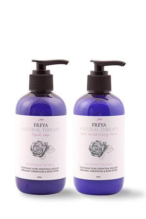 Heavenly Floral Liquid Soap and Hand Moisturising Lotion Gift Set