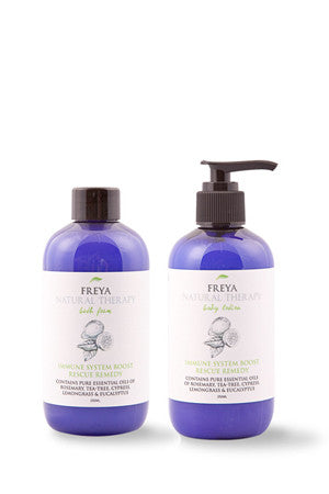 Immune System Boost Bath Foam & Body Lotion Gift Set