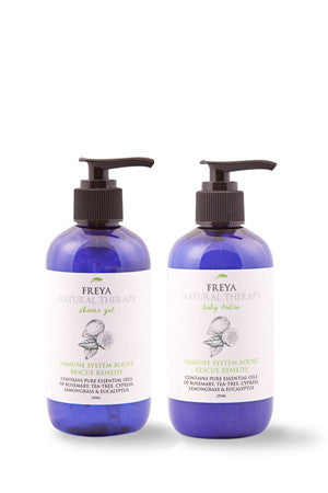 Immune System Boost Shower Gel & Body Lotion Gift Set